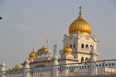 Bangla Sahib Gurudwara, ein Sikh Tempel in Neu Delhi