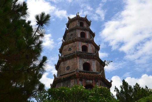 Chua Thien Mu, das Wahrzeichen Hues