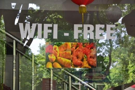 Endlich mal eine wifi freie Zone. das ist schon lästig, überall schwirrt das Internet rum...