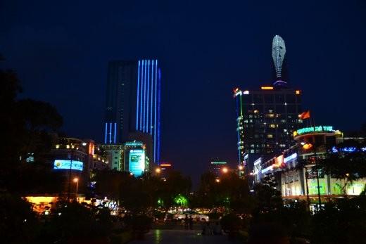 Saigon by night... Besonders schön!