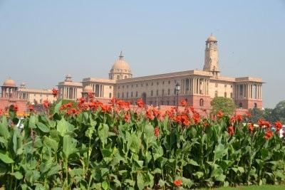 Rashtrapati Bhawan und Sekretariatsgebäude