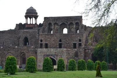 """Das alte Fort """"Purana Qila"""""""