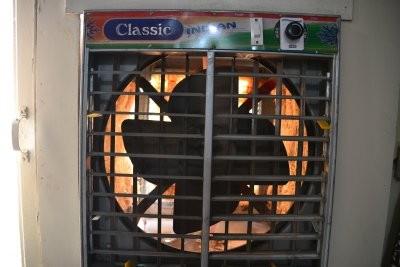 Mein Kühlungssystem im Hotel: Ventilator und...