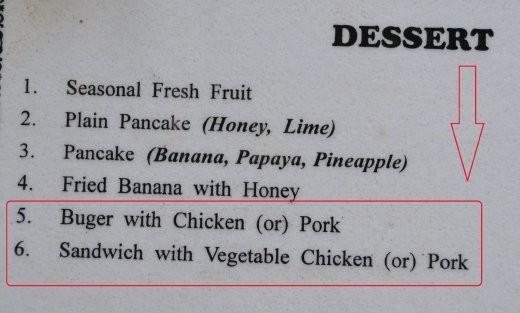 Hmmm, und als Nachtisch noch schnell einen Burger ***