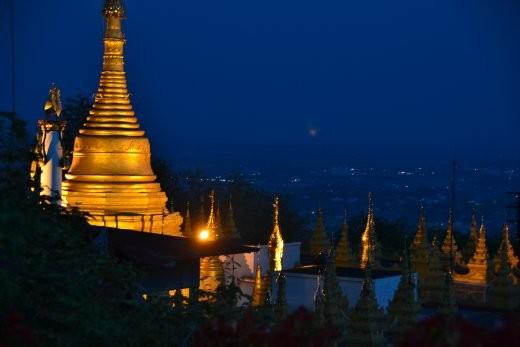 Auf dem Mandalay Hill
