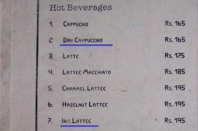 trockenen Cappuccino? Und eine witzige Version von Irish Coffee