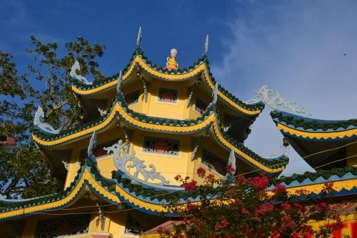 Tempelchen in Chau Doc.