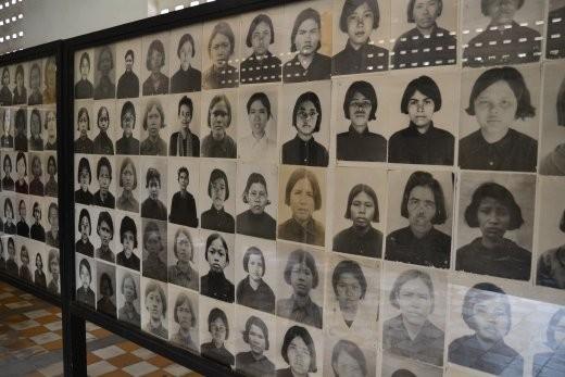 Alle Gefangenen wurden fotographiert und in Akten notiert, so dass sichergestellt wurde, dass niemand aus Versehen davonkommt