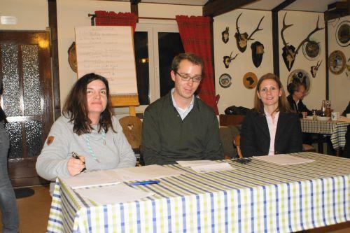 Birgit Altenheiner, Philipp und Christina Bertelsmeier