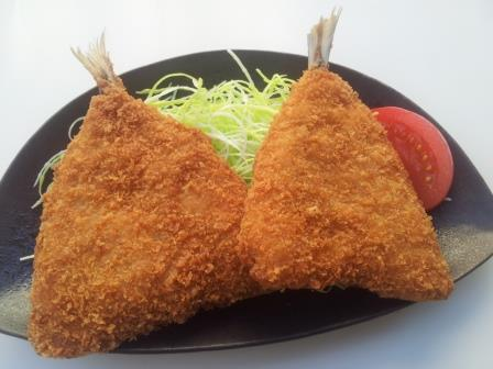 AJI FRY (Breaded Horse Mackerel)