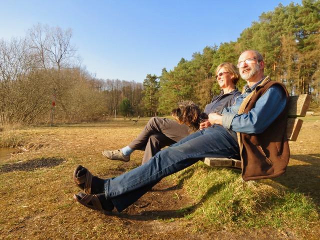 Seele baumeln lassen beim gemeinsamen Sonnenbad