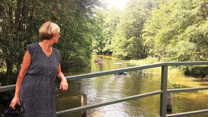 Paddelurlaub, Wasserwanderer Rheinsberger Seenlandschaft