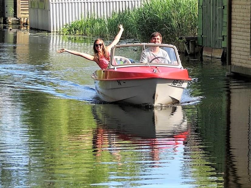 Bootsausflug in der Mecklenburgischen Seenplatte