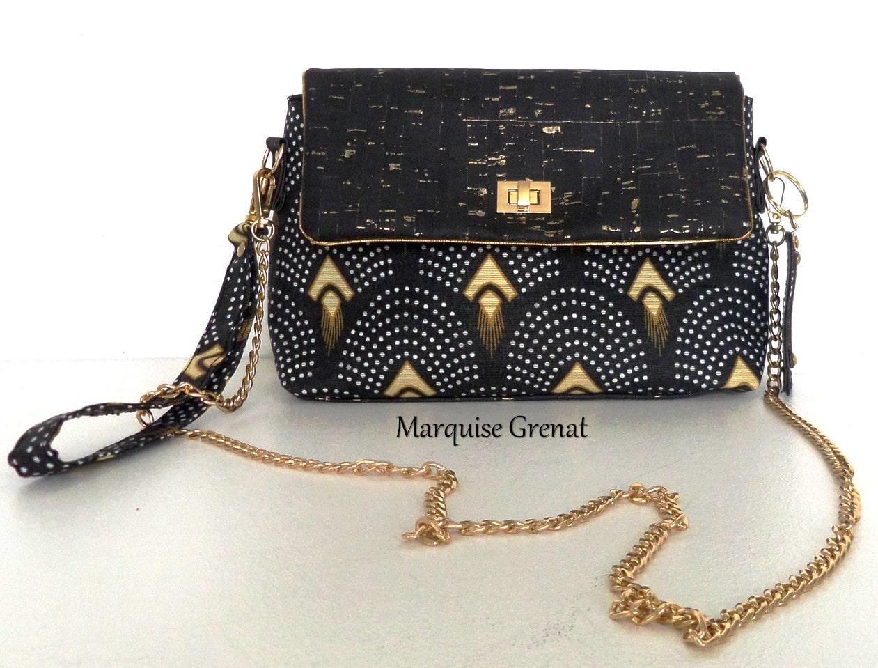 052487723d9c0 Pochettes créateur de jour ou soirée - Marquise Grenat - Bijoux ...