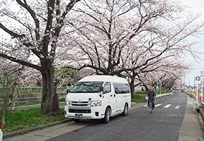 瀬戸市の介護タクシー プラス介護タクシー 花見