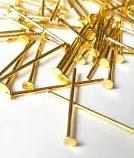 des clous de riches : dorés