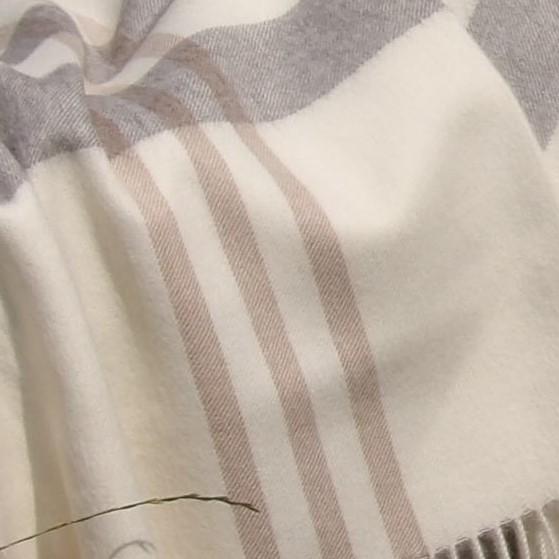 Baby Alpaka Premium Decke, gestreift