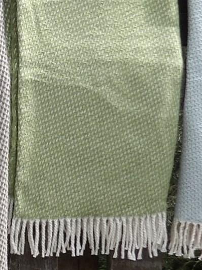 Baumwolldecke Florenz, Grün