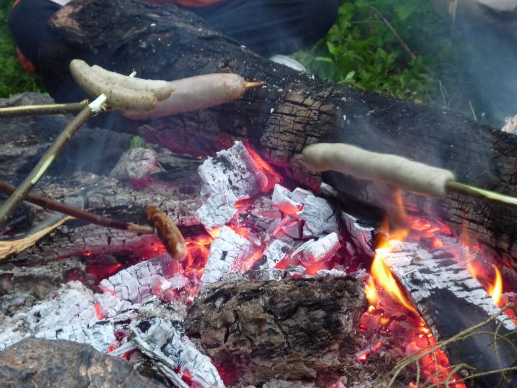 Sonnenwendfeier am Poppenstein, mit leckeren Rostern und Steaks
