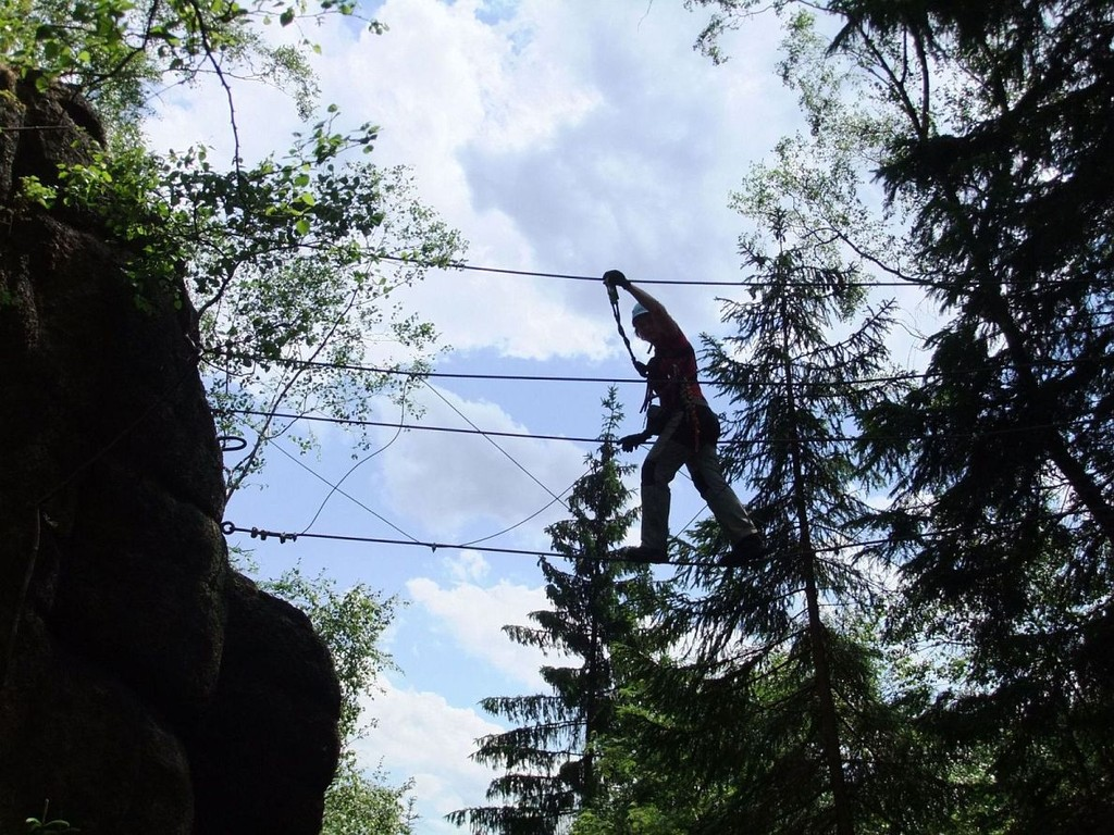 DAV Klettersteigkurs in Erlabrunn