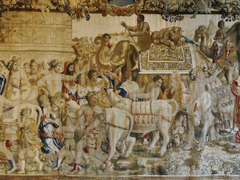 Wandteppiche mit antiken Mythen