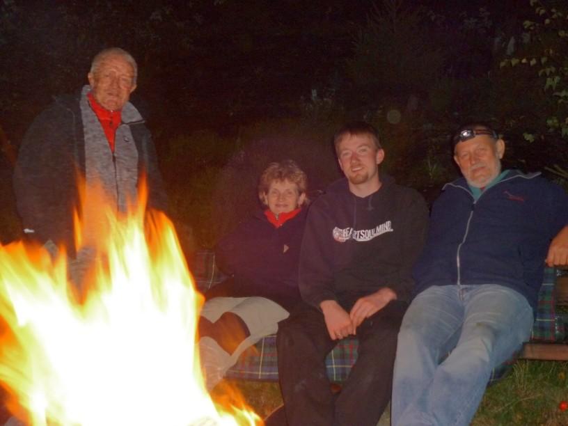Mittwochstraining - Sommersaison Ende am Lagerfeuer