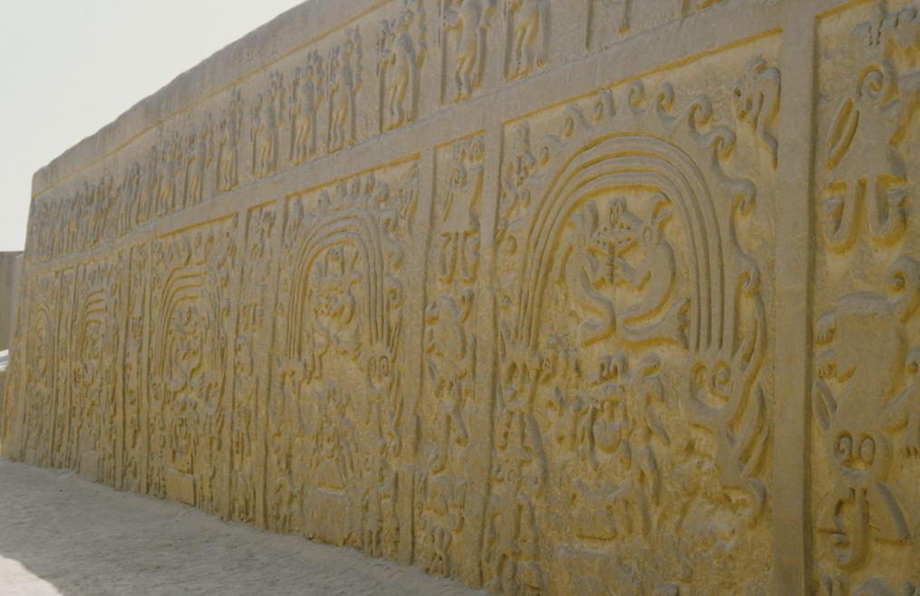 Außenmauer des Templo Arco Iris