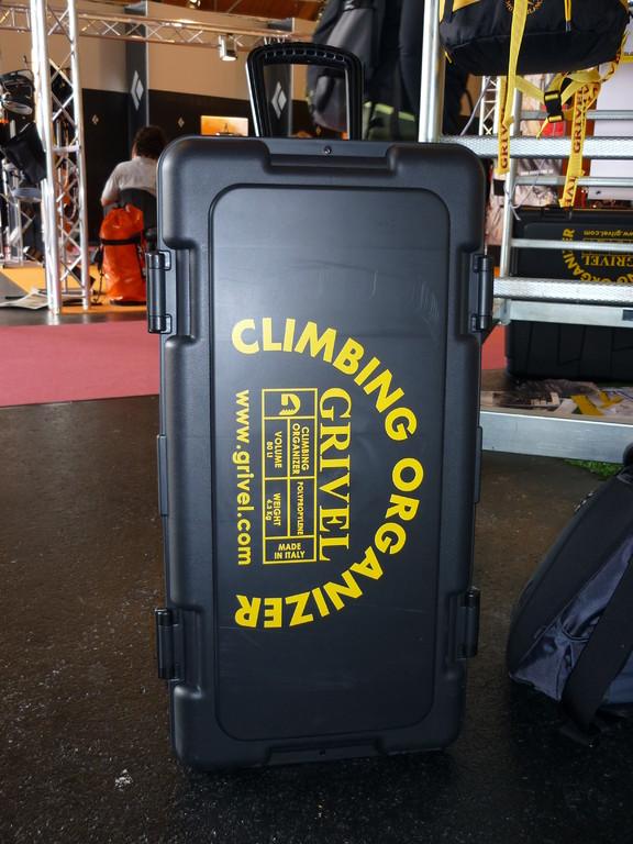 wer die Ordnung in seinem Chaos liebt, schafft sich den Climbing Organizer von Grivel an