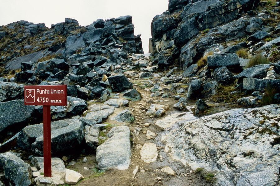 Pass Punta Union (4750m)
