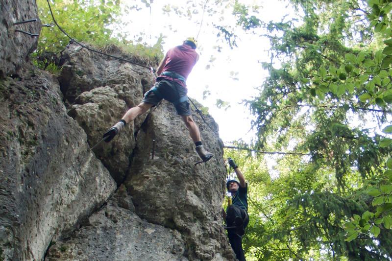 Klettersteig Fränkische Schweiz : Klettersteig beschreibung kemitzensteinsteig