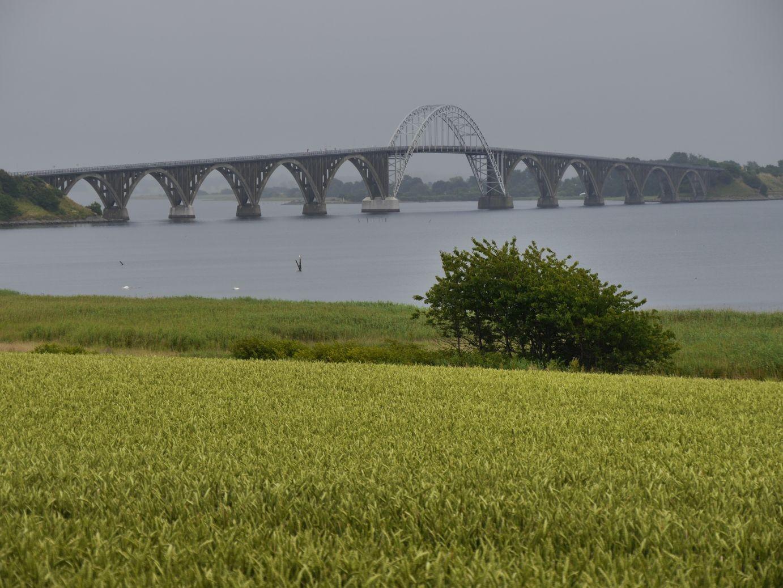Königin Alexandrine Brücke, welche über den Ulvsund die Inseln Møn und Seeland verbindet