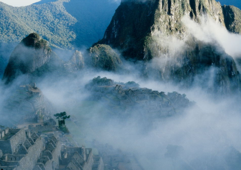 Sonnenaufgang in Machu Picchu (Urubambatal)