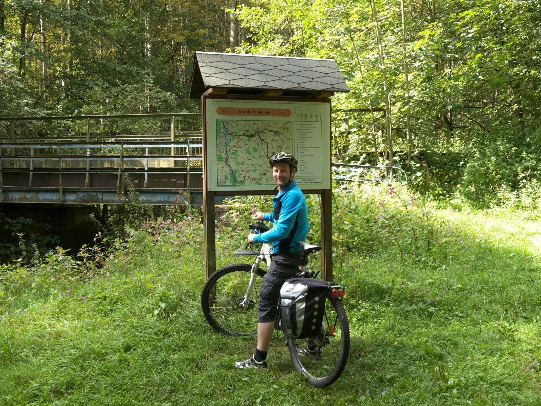 Am Eingang des Fuchsbachtals