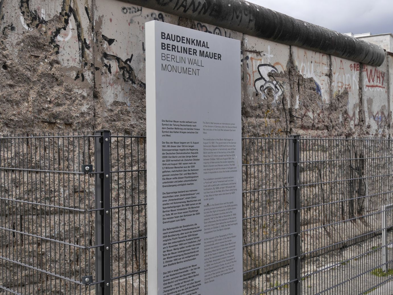 Reste der Berliner Mauer