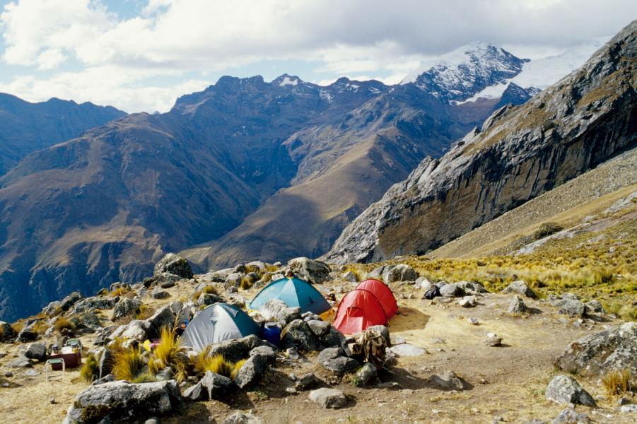 Campamento Osoruri (Cordillera Blanca)