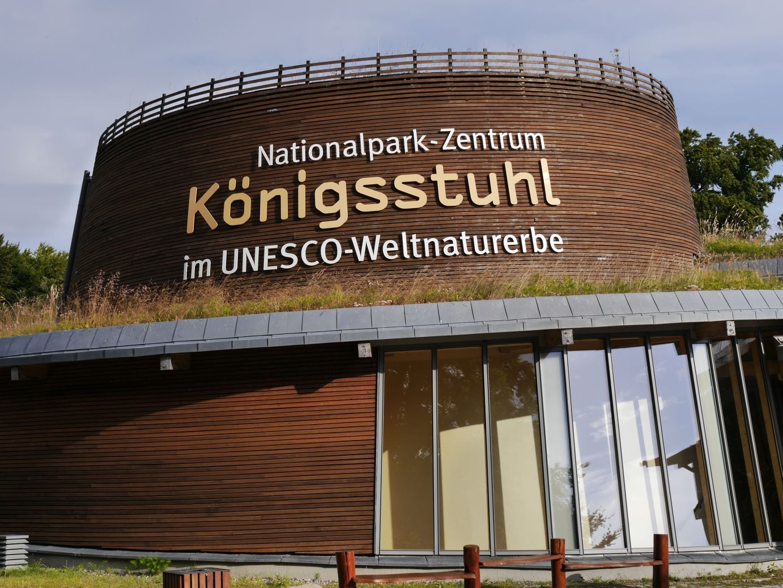 Informationszentrum am Königsstuhl