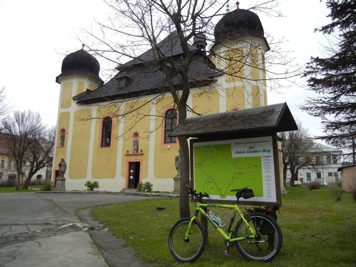 Kirche von Horni Blatna - Platten
