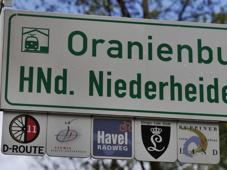 die Wegeauszeichnung ist in Brandenburg sehr gut