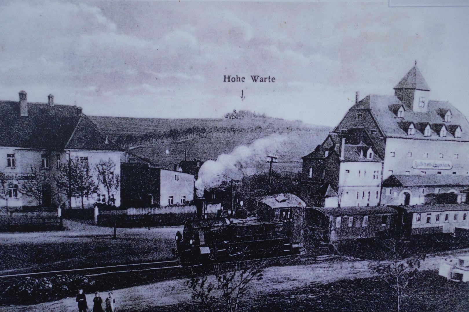 das heute noch existierende Raiffeisengebäude in Thiersheim
