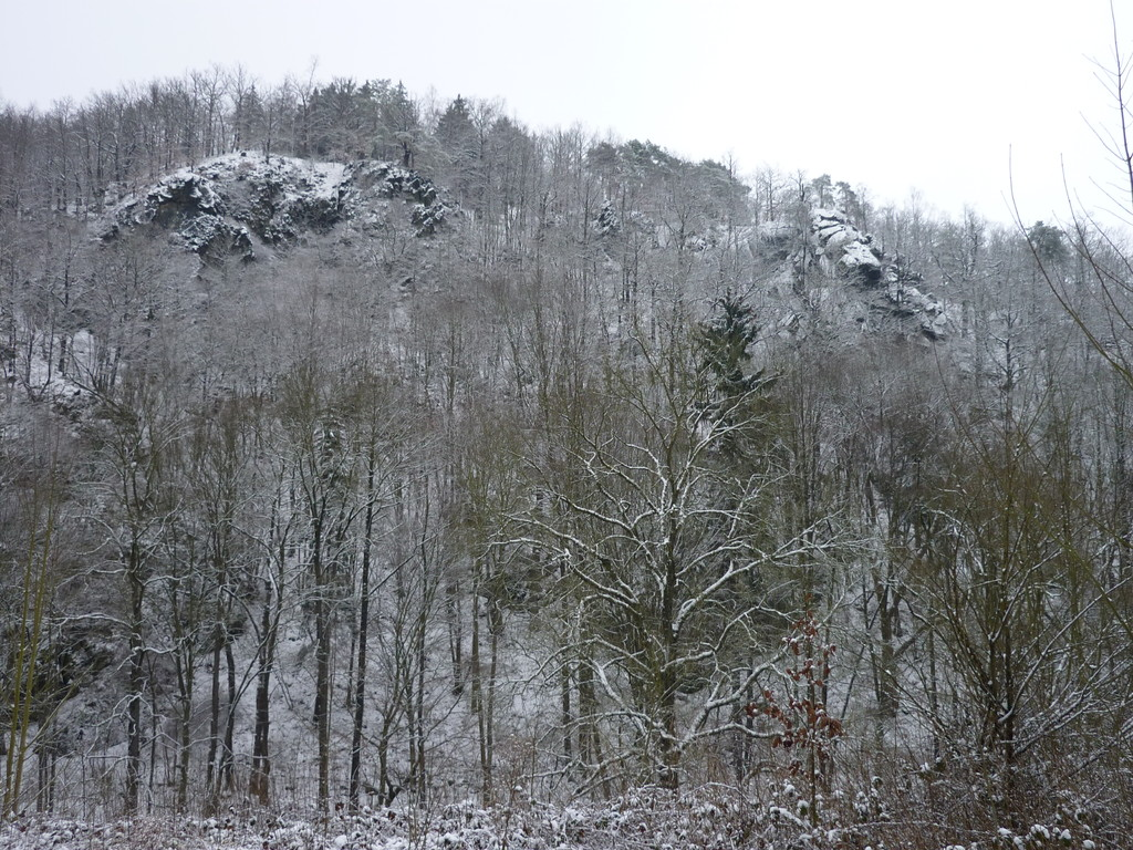 Das Steinicht liegt in der Winterstarre
