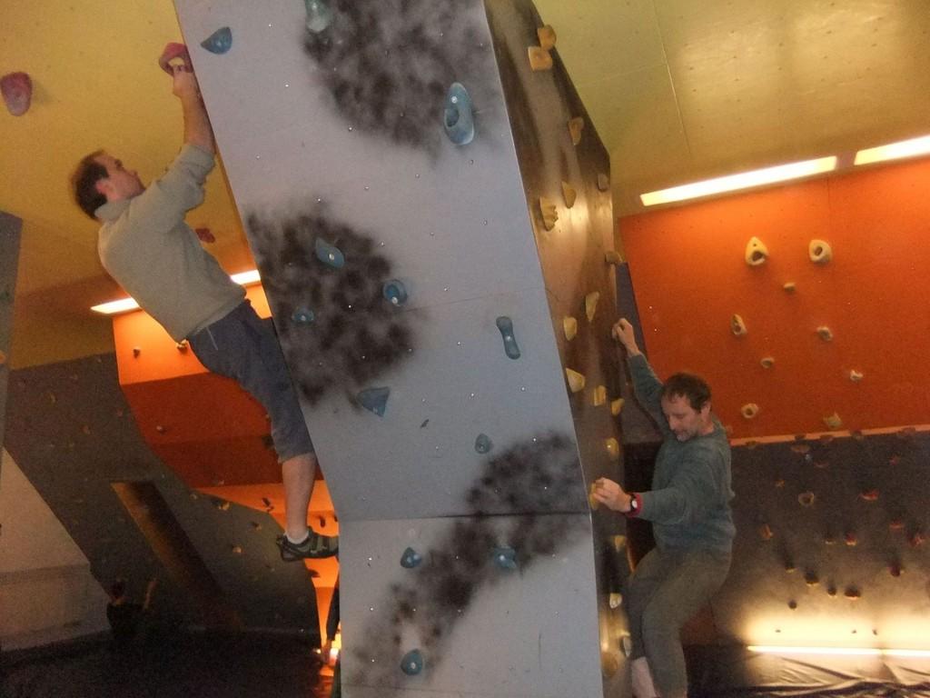 Mittwochstraining im Boulderboden Waldpark Grünheide