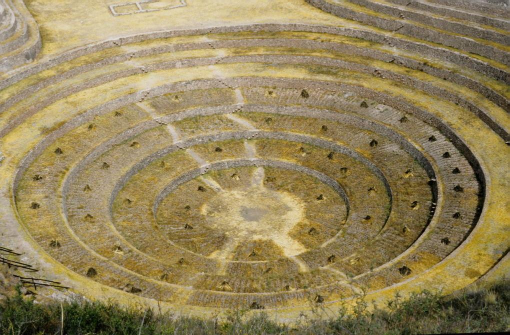 Landwirtschaftszentrum der Inka in Moray