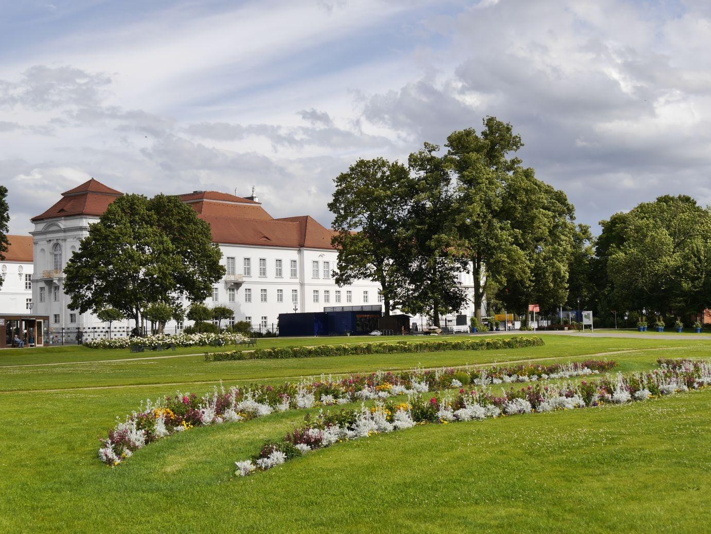 die Anlage des Parks geht auch auf die Initiative von Luise Henriette zurück