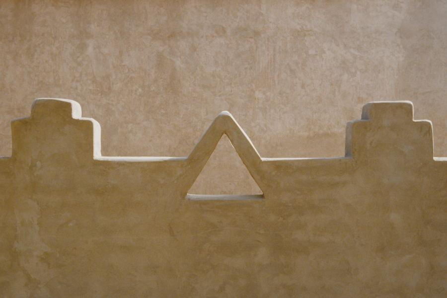 Architektur der Atacama-Indianer