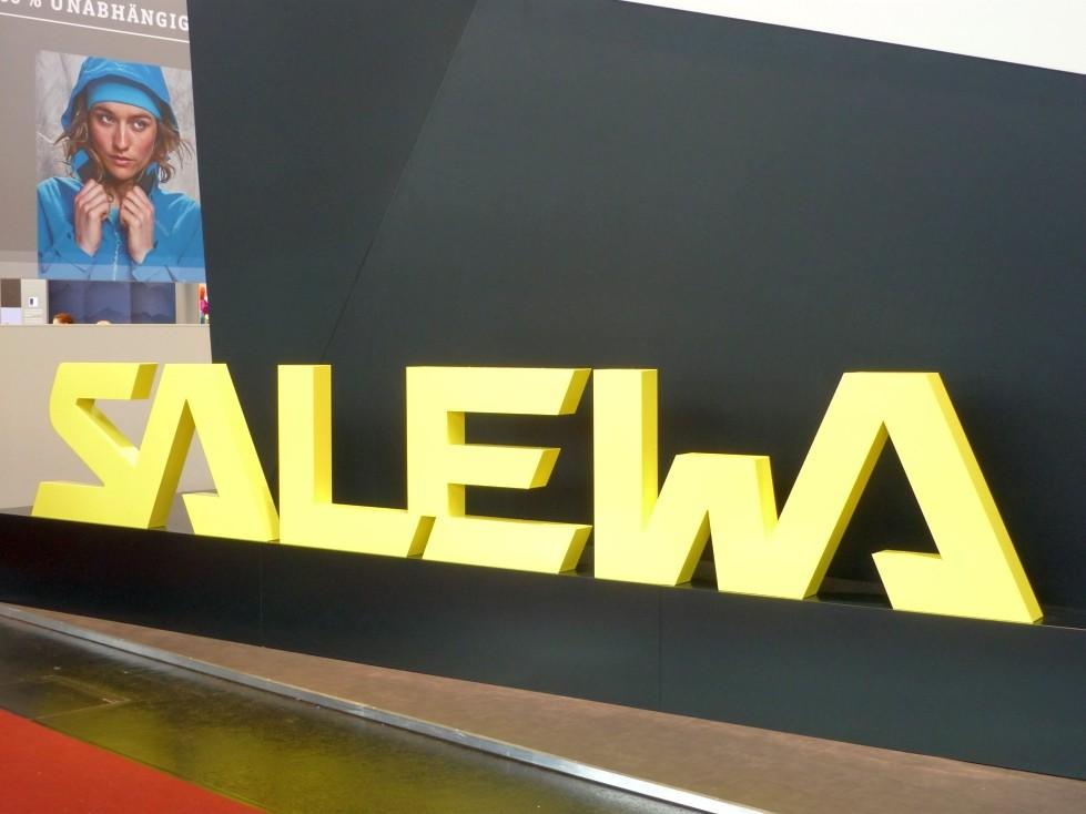 SALEWA mit neuem Logo Auftritt