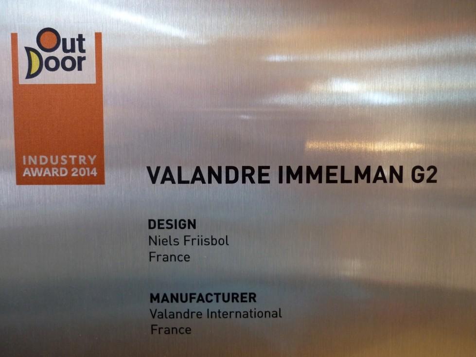 Industry Award für die neue Daunenjacke Immelmann G2 von VALANDRE