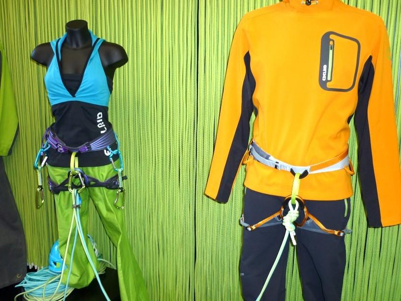 neue Kletterbekleidung von Edelrid