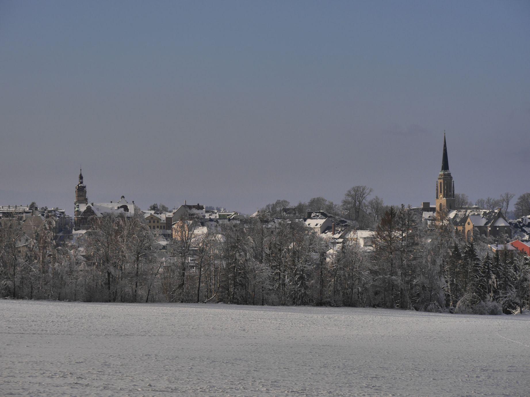 Blick zurück nach Falkenstein