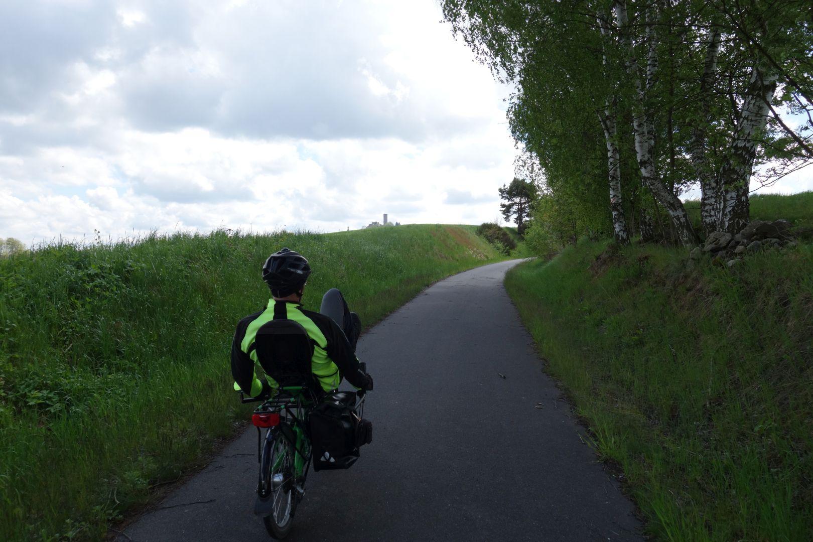 Auffahrt nach Thierstein