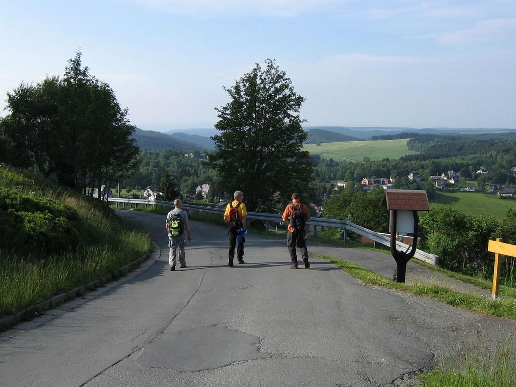 Höhensteig Fünfziger, eine vogtländische Wanderung um Klingenthal